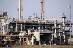 Petrochemical plant detail Stock Images