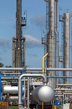 Petrochemical plant detail Royalty Free Stock Photos