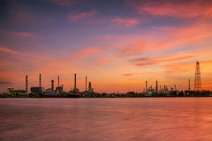 Petrochemical plant i Stock Photo