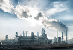 Petrochemical plant Stock Photography