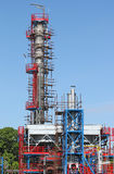 Petrochemical plant oil industry construction site Stock Image
