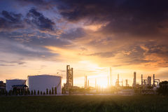 Petrochemical plant Royalty Free Stock Photography