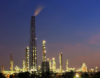 Petrochemical plant ( oil refinery ) industry Stock Photography