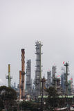 Petrochemical Plant Portrait Stock Image