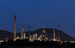 Petrochemical plant, Refinery Stock Photos