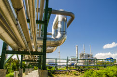 Petrochemical plant in Thailand Stock Photos