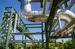 Petrochemical plant in Thailand Stock Images