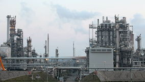 Petrochemical plant, Time lapse stock footage