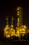 Petrochemical plant at twilight Stock Photography