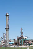 Petrochemical plant vertical Stock Image