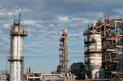 Petrochemical Refinery Plant Royalty Free Stock Photo