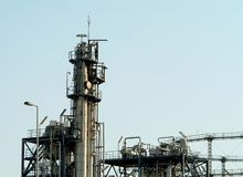 Petrochemical Tower Stock Images