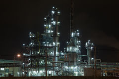 Petrochemical unit Royalty Free Stock Images