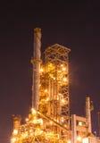 Petrochemicalfabrik Arkivfoto