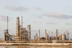 petrochemicalsväxt Royaltyfria Foton