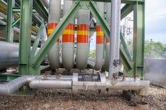 Petrochemicalväxt i Thailand Royaltyfri Foto
