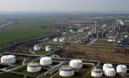 Petrochemiczna rafineria Fotografia Royalty Free