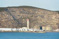 Petrochemiczna rafineria Zdjęcie Royalty Free