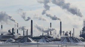 Petrochemiczna rafineria 1 zdjęcie wideo