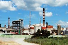 Petrochemiczna rafineria ropy naftowej, Hiszpania Obrazy Royalty Free