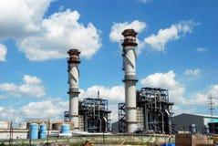 Petrochemiczna rafineria ropy naftowej, Puente Mayorga Zdjęcie Royalty Free