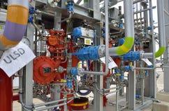 Petrochemiczna technologia dla ładować przewozi samochodem na terminal Zdjęcia Stock