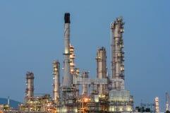 Petrochemische bedrijfkrachtcentrale Stock Afbeelding