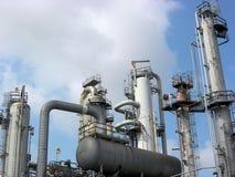 Petrochemische Eenheid Royalty-vrije Stock Afbeeldingen