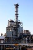Petrochemische fabrieksbouw Royalty-vrije Stock Afbeeldingen