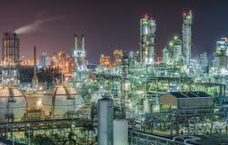 Petrochemische Installatie Stock Foto's