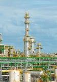 Petrochemische installatie Stock Fotografie