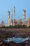 Petrochemische installatie Royalty-vrije Stock Foto's