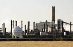 Petrochemische installatie Stock Afbeelding