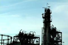Petrochemische installatie Stock Foto