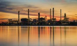 Petrochemische Installatie Royalty-vrije Stock Foto