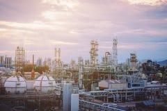 Petrochemische Installatie Royalty-vrije Stock Afbeeldingen