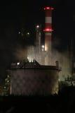 Petrochemische Raffinerie stockfotos