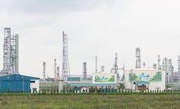 Petrochemisches destillation O Kraftstoff der chemischen Industrie der Erdölraffinerie stockfotos
