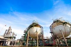 Petrochemisches Werk Lizenzfreies Stockbild