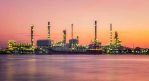 Petrochemisches Werk Stockfoto