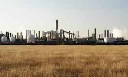 Petrochemisches Werk Stockfotografie