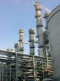 Petrochemisches Werk Stockbilder