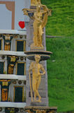 petrodvorets ансамбля каскада грандиозные стоковое фото rf