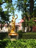 petrodvorets фонтана Стоковое Изображение RF