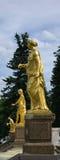 petrodvorets фонтана Стоковая Фотография RF