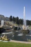 petrodvorets фонтана Стоковое фото RF