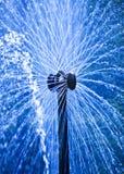 Petrodvorets 喷泉太阳 免版税库存图片