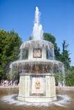 Petrodvorets 喷泉 库存照片