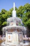Petrodvorets 喷泉 库存图片
