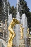 petrodvorets fontann Zdjęcie Royalty Free